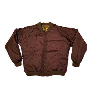 248501e3df1be Cabela's Jackets & Coats - NWOT Cabela's Reversible Camo/Brown Bomber Jacket